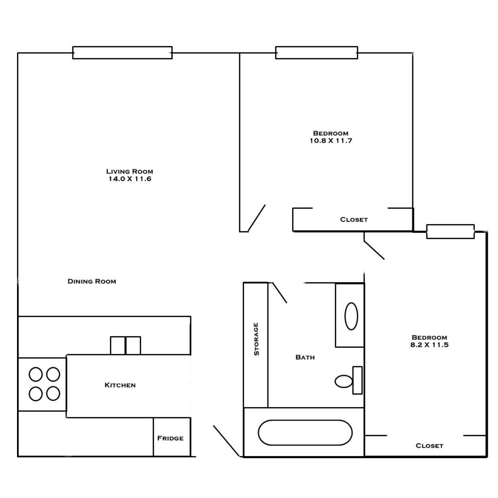 hc1-2-bedroom-layout