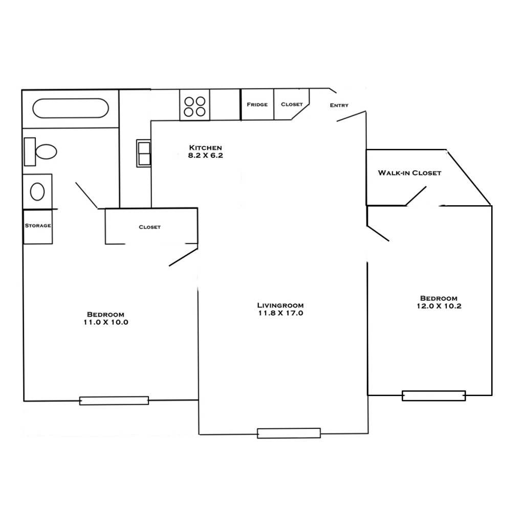 hc2-2-bedroom-layout